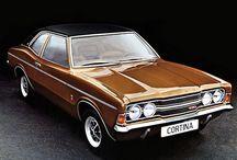 Ford Cortina and Capri