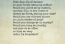 ... poems art ...
