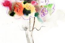 Colourful. Beautiful / Surreal art. Art. Fashion. Colours.