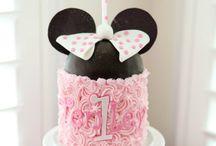 Ana 1st bday / Minnie Mouse birthday / by Dannielle Johnson Messoroch