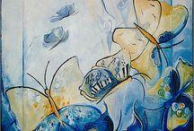Malerei, Bilder / meine Acryl-Bilder