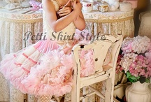 Pettiskirts for Girls and Toddlers / PettiskirtStyle.com has it all ....come take a look at us. You will love the visual...chiffon pettiskirts and petticoats in every color under the sun