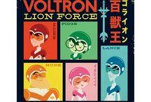 Voltron Art