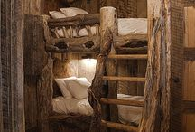 Nooks/Bunkbeds / by Samantha Vaughn