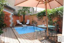 Reportage photo mini piscine coeur de ville de Bordeaux