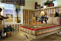 outdoor theme bedroom