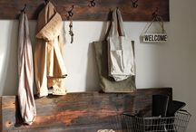 Entryway/Jacket Rack / Key Rack