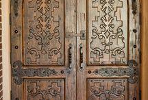 Hacienda doors