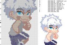 Manga and Anime cross stitch patterns / Manga and Anime cross stitch patterns