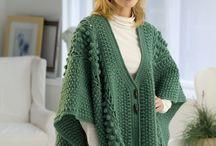 Crochet cape, capelets. / by Laura Cole