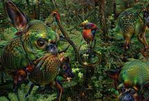 Google Deep Dreams / How do Computers Dream? Google DeepDream research experiment that converts everyday photos into bizarre, psychedelic images More Dream stuff: http://tavernofdreams.com/