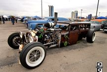 ☠ RAT RODS ☠ / Åℝ✝ Шℑ✞ℋ ℋ☮ℜ$∃ṔϴШℰℝ / by Robert Jr. Geballa