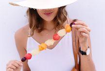 Summer goodies / Summer foods
