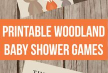 Woodland shower