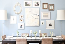 "Wall Decor / Ideas and ""how to"" instruction for hanging your art (think photography) on your walls! / by Amy Pezzicara / Pezz Photo"
