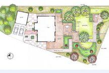 Gårdsplanering/trädgård