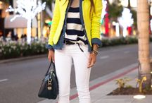 Casual luxe / Causal fashion with a POP / by Tricia Mickens