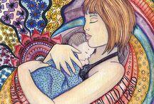 Art Prints / My Birth art and custom paintings
