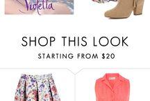 Violetta dresses