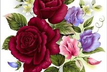 kwiaty szkice