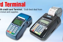 Credit Card Terminal / Encash more #business with #creditcard #terminal. Grab best deal from the range of credit card terminal and #supplies.  http://goo.gl/FAY0lq
