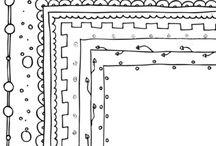 Doodling borders m.m