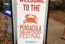 i <3 Pensacola / Some of my reasons: Seafood Fest, Gallery Night, Arts & Craft Festival, Mardi Gras, Gulf Islands Nat'l Seashore, Blue Angels, Naval Aviation Museum.. / by Scott Jemison