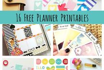 Planner Ideas / The planners I like and some I plan to make.