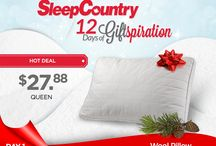 12 Days of Giftspiration / Give a loved one the gift of a great night's sleep!