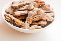 Organic dog biscuits