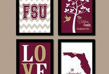 FSU at home / Garnet and gold isn't just for campus life