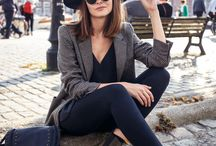 Street style / Stylish and casual street fashion
