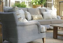 Outdoor Seating / Bring your living room outdoors! Augustus & Carolina's deep seating is not only comfortable and well made, its beautiful.