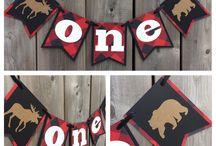 Lumberjack party decorations