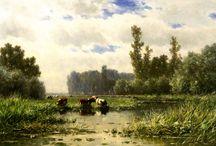 Willem Roelofs 1822-1897 / Dutch painter
