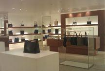 around showroom....