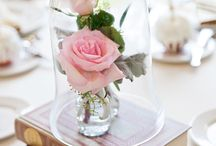 Beautiful center pieces