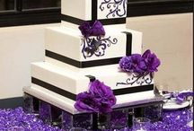 Purple n black cake