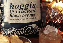 Burns Night / 25th January 2014. A time to celebrate all things Scottish. And to eat Haggis Crisps!