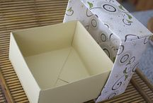 modèles boites carton