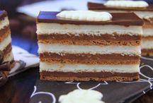 fekete fehér csokis süti