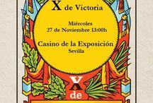 X de Victoria: novias y fiesta