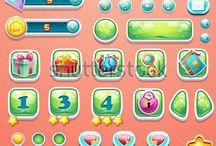 Game GUI Casual Cute