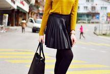 С чем можно носить черные колготки: советы стилиста