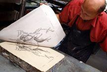 гравюра литография