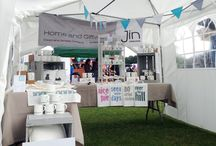 Events & Fairs / Creating a display for Jin Designs products at events and fairs