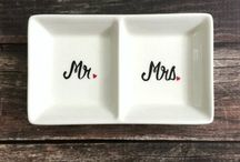 Hand Painted Gifts / Engagement gifts, wedding gifts and custom orders! / by Carisa
