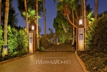 Art Deco Architecture / Featuring Art Deco style architectural homes represented by Hilton & Hyland