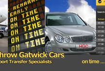 Heathrow Gatwick Transfers / HeathrowGatwickCars.com is a private hire taxi licenced to serve London Heathrow and Gatwick Airport by provideing Airport transfers transportation