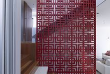 Foot Spa - partition wall